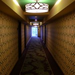 Typical Hallway at the Riviera Palm Springs Hotel