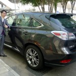 House car at The Upper House, Hong Kong: Lexus RX-350