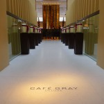 Entryway to Cafe Gray at The Upper House, Hong Kong