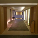 Serene hallway at The Upper House, Hong Kong