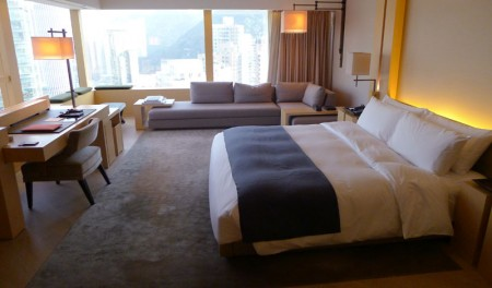 A room with a view at The Upper House, Hong Kong