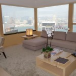 Suite with a view at The Upper House, Hong Kong