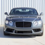 Front view of the Bentley Continental GT V8