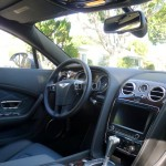 Interior of the Bentley Continental GT V8
