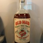 Classic Bottle of Old Maid at the Oscar Getz Museum of Whiskey History in Bardstown, Kentucky