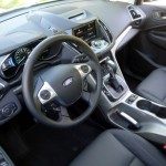 Driver's Side Interior of the Ford C-MAX Energi, Our March 2013 Car of the Month