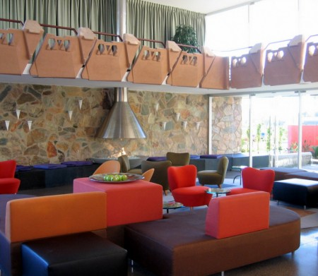 Lobby Lounge at the Hotel Valley Ho in Scottsdale, AZ
