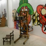 Chris Is Done and Signs the Piece at MB Galleries in Los Angeles