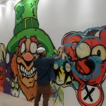 So much for the Deranged Red Bear at MB Galleries in Los Angeles
