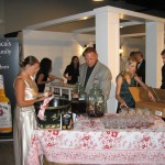Jim Beam Tasting Stand at the Kentucky Bourbon Festival in Bardstown