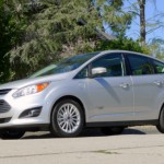 Three-quarter Front View of the Ford C-MAX Energi, Our March 2013 Car of the Month