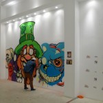 Triptych: Tribal Art, Street Art and Art Mobb at MB Abram Galleries in Los Angeles 525 DTLA