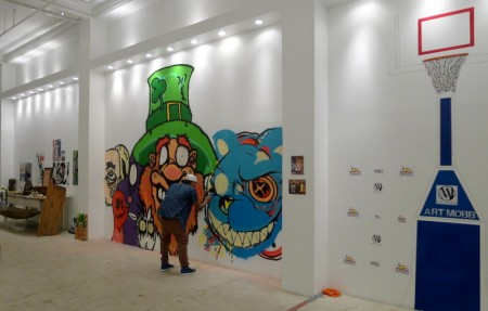 Triptych:  Travel Art, Street Art and Art Mobb at MB Abram Galleries in Los Angeles