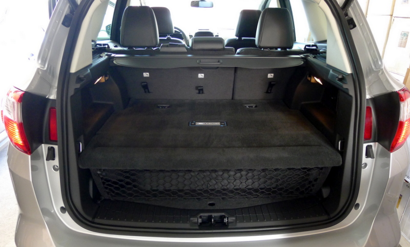 Ford C Max Cargo Space >> Trunk Space Of The Ford C Max Energi Alain Gayot Photos Gallery