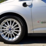 Wheel Detail of the the Ford C-MAX Energi, Our March 2013 Car of the Month
