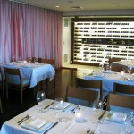 Dining room of JRDN Surf: Sky: Spirit Restaurant at Tower23 Hotel in San Diego, CA