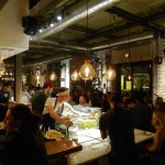 The chefs hustle and bustle at Bestia in downtown Los Angeles