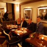 A family photo at Sirio Ristorante in New York City