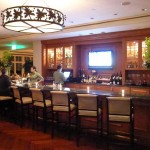 The bar at The Loft Bistro at Montage Laguna Beach