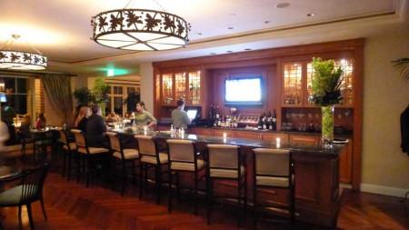The bar at The Loft Bistro at Montage Laguna Beach