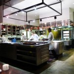 The kitchen of Saison