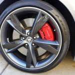 Wheel detail of Jaguar F-Type S