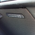Meridian speakers in the Jaguar F-Type S