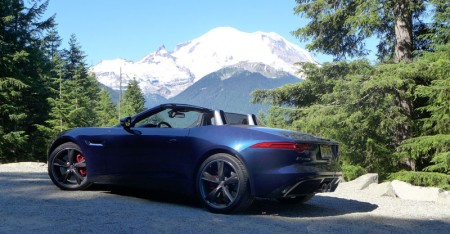 Road trip in the Jaguar F-Type