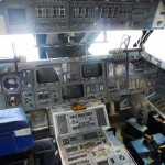 Space Shuttle Trainer cockpit