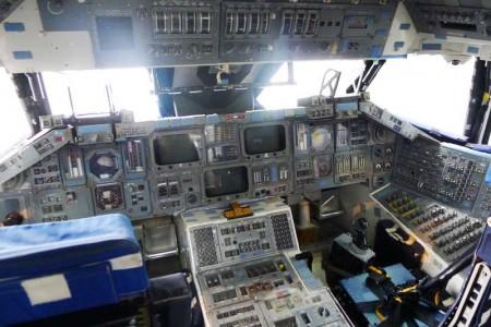 Space Shuttle Trainer cockpit