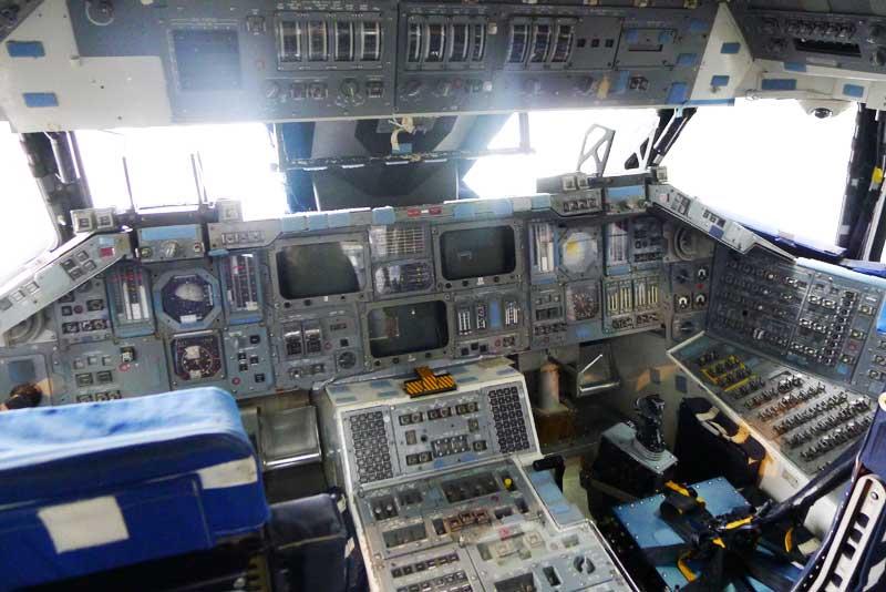 space shuttle cockpit trainer - photo #3