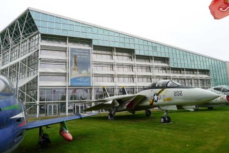 Exterior facade of Museum of Flight
