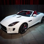 Jaguar F-Type S in Polaris White