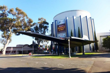 Entrance to the San Diego Air & Space Museum