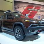 Jeep Cherokee at the 2013 LA Auto Show