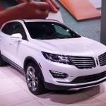 Lincoln MKC at the 2013 LA Auto Show
