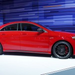 Mercedes-Benz CLA at the 2013 LA Auto Show