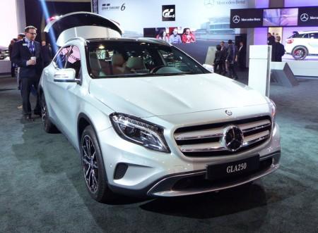 Mercedes-Benz GLA 250 at the 2013 LA Auto Show