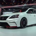 Nissan Sentra Nismo at the 2013 LA Auto Show