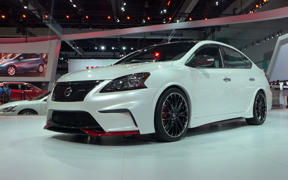 Nissan Sentra Nismo at the 2013 LA Auto Show | Alain Gayot ...