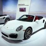 Porsche 911 Turbo Cabriolet at the 2013 LA Auto Show