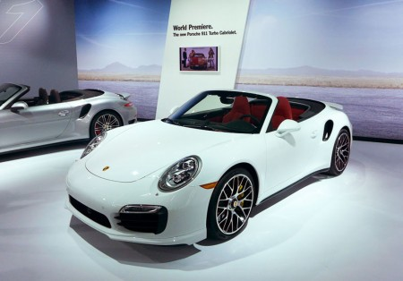 Porsche 911 Turbo Cabriolet at the 2013 LA Auto Show