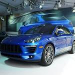 Porsche Macan at the 2013 LA Auto Show