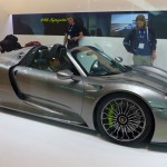 Porsche 918 Spyder at the 2013 LA Auto Show