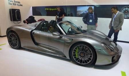 Porsche 918 Spyder at the 2013 LA Auto Show