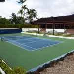 Tennis Courts of Mauna Lani Bay Hotel and Bungalows