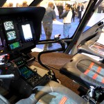 airbus helicopter EC130 T2 cockpit interior