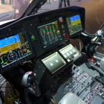 single pilot IFR readu glass cockpit of the AgustaWestland AW169 helicopter