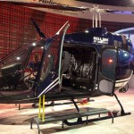 the new textron bell jet ranger x 505 light helicopter