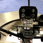 Robinson R22 helicopter glass cockpit